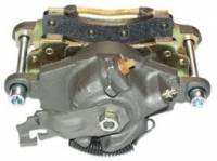 Brakes - Rear Disc Brake Kits - Large Eldorado Rear Caliper Loaded w/Semi-Metallic Pads, Park Brake Lever & Spring (Pair)