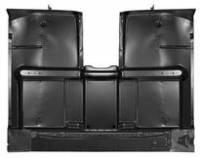 Sheetmetal - Floor Pans - Classic Industries - Full Cab Floor Pan w/Under Floor Braces, High Hump, 69-72 Blazer