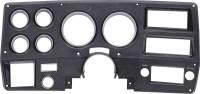 Interior - Dash - Instrument Cluster Bezel w/A/C, Black/Silver, 75-77 Blazer, Suburban & Pickup