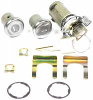 Body - Door Parts - Classic Industries - Ignition & Door Locks w/Late Style Key, 73-78 Blazer, Suburban & C/K Pickup