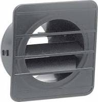 Heating & Cooling - Heater & A/C - Defrost Vent, Left, Black, 69-72 Blazer, 67-72 Suburban & Pickup