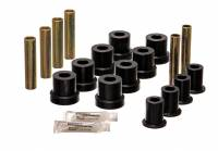 67-72 Suburban - Bushings & Bumpers - Energy Suspension - Front Leaf Spring Bushing Kit, 69-70 Blazer, 67-70 Suburban & K Pickup