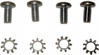 69-72 Blazer - Hardware - Window Regulator Screw Kit (4 pc), 69-72 Blazer, 67-72 Suburban & Pickup