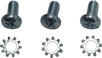 69-72 Blazer - Hardware - Door Relay Screw Kit (3 pc), 69-72 Blazer, 67-72 Suburban & Pickup