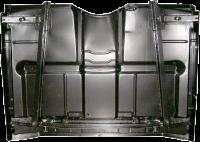 Sheetmetal - Floor Pans - Classic Industries - Full Cab Floor Pan w/Under Floor Braces, Low Hump 2wd, 69-72 Blazer