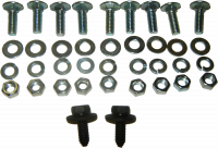 Sheetmetal - Rear Body - Bedside Bolt Kit (1 Bedside), 69-72 Blazer, 67-72 Shortbed Pickup