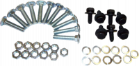 Sheetmetal - Truck Bed - Rear Wheelhouse Bolt Kit (1 Wheelhouse), 69-72 Blazer, 67-72 Pickup