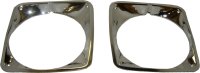 Body - Molding & Trim - Headlight Bezels (Pair), 69-72 Blazer, Suburban & Pickup