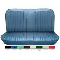 Interior - Original Seats - Rear Bench Seat Upholstery, Vinyl w/Scroll Pattern, 71-72 Blazer