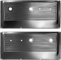 Interior - Door - Metal Door Panels (Pair), 69-71 Blazer, 67-71 Suburban & Pickup