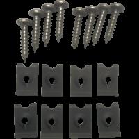 Lighting - Park/Turn Lamps - Side Marker Screw & Clip Kit, 69-72 Blazer, 68-72 Suburban & Pickup