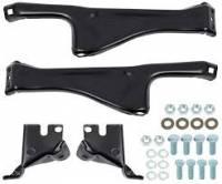 Bumpers - Standard Bumpers - Front Bumper to Frame Bracket Set w/Frame Hardware, 81-91 Blazer & Suburban, 81-87 Pickup