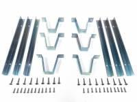 Rear 1/4 Trim Mounting Bracket Set w/Hardware, 69-72 Blazer - Image 1