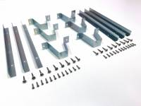 Rear 1/4 Trim Mounting Bracket Set w/Hardware, 69-72 Blazer - Image 2
