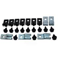 Brakes - Lines & Hoses - Brake Line Clip Set (24 Pc), 71-72 Blazer