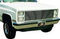 Classic Industries - Billet Grill w/Brushed Finish w/Parking Lamp Brackets, 81-87 Blazer, Suburban & C/K Pickup