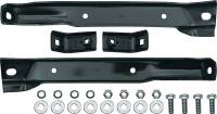 Body - Bumpers - Classic Industries - Front Bumper Bracket Set, 4wd (4pc w/Frame Bolts), 69-70 Blazer, 67-70 Suburban & C/K Truck  (67-72 GMC)