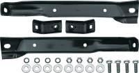 Front Bumper Bracket Set, 4wd (4pc w/Frame Bolts), 69-70 Blazer, 67-70 Suburban & C/K Truck  (67-72 GMC)