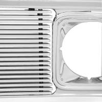 Body - Grill - Classic Industries - Custom Chrome/Billet Grill Assembly (8mm Thick Insert Bars), 69-72 Blazer, Suburban & C/K Pickup