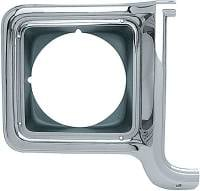 Body - Molding & Trim - Classic Industries - Headlamp Bezel, RH, 73-78 Blazer, Suburban & C/K Pickup