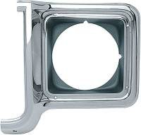 Body - Grill - Classic Industries - Headlamp Bezel, LH, 73-78 Blazer, Suburban & C/K Pickup
