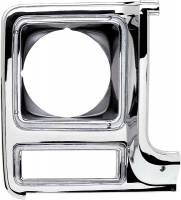 Body - Molding & Trim - Classic Industries - Headlamp Bezel, Round, RH, 79-80 Blazer, Suburban & C/K Pickup