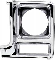 Body - Molding & Trim - Classic Industries - Headlamp Bezel, Round, LH, 79-80 Blazer, Suburban & C/K Pickup