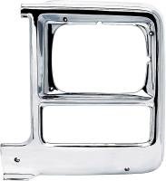 Body - Molding & Trim - Classic Industries - Headlamp Bezel, Rectangle, LH, 79-80 Blazer, Suburban & C/K Pickup
