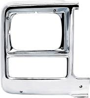 Body - Molding & Trim - Classic Industries - Headlamp Bezel, Rectangle, RH, 79-80 Blazer, Suburban & C/K Pickup