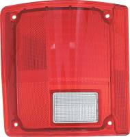 Lighting - Tail Lamps - Classic Industries - Tail Lamp Lens w/o Chrome, LH, 73-91 Blazer & Suburban, 73-87 C/K Pickup