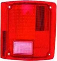 Lighting - Tail Lamps - Classic Industries - Tail Lamp Lens w/o Chrome, RH, 73-91 Blazer & Suburban, 73-87 C/K Pickup