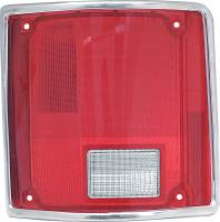 Lighting - Tail Lamps - Classic Industries - Tail Lamp Lens w/Chrome, LH, 73-91 Blazer & Suburban, 73-87 C/K Pickup
