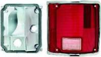 Lighting - Tail Lamps - Classic Industries - Tail Lamp Assembly w/Chrome, RH, 73-91 Blazer & Suburban, 73-87 C/K Pickup