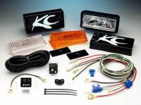 "KC Hilites - KC 2"" x 6"" 26 Series Halogen Pair Pack System"
