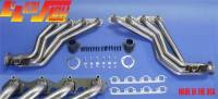 Engine - Headers - L&L Products - 396/454 Headers Chassis Exit w/Air Injection Fittings