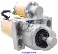 Motor City Reman - Diagonal Mount Mini High Torque Starter w/168 Tooth Flywheel