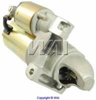 Motor City Reman - Straight Mount Mini High Torque Starter w/153 Tooth Flywheel