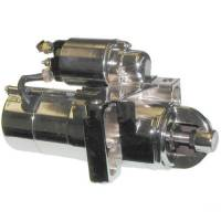 Electrical - Starters - Motor City Reman - Chrome Diagonal Mount Starter w/168 Tooth Flywheel