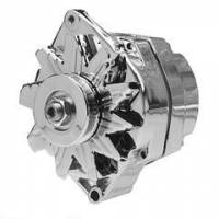 Electrical - Alternators - Motor City Reman - Chrome 100 Amp GM 1 Wire Universal Mount 10-12SI Alternator