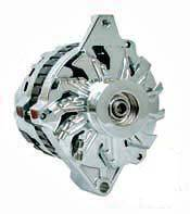 Electrical - Alternators - Motor City Reman - Chrome GM 1 Wire Universal Mount CS130 Alternator
