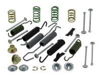 "Motown Automotive - Rear Drum Brake Hardware Kit w/11 5/32"" x 2 3/4"" Drums, 76-91 Blazer & Suburban, 76-87 C/K10/20 Pickup"