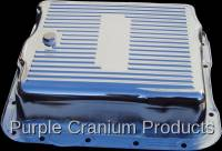 Transmission - TH700-R4 (4L60) Auto - Purple Cranium Products - Chrome Extra Capacity Transmission Pan, TH700-R4