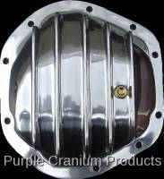 Dana 44 Front - Covers & Protection - Purple Cranium Products - Polished Aluminum Differential Cover, Dana 44