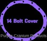 "14 Bolt 9.5"" - Covers & Protection - Purple Cranium Products - Cover Gasket, 14 Bolt 9.5"" RG"