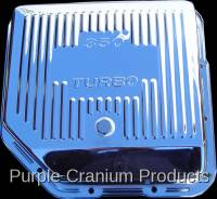 Transmission - TH350 Auto - Purple Cranium Products - Chrome Transmission Pan, TH350