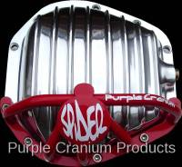 Dana 60 Front - Covers & Protection - Purple Cranium Products - Dana 50, 60, 70 Half Spider Differential Rock Guard for PCP Aluminum Cover - Front