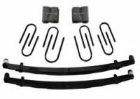 "Suspension - Lift Kits - Skyjacker Suspensions - 4"" Suspension Lift w/Rear Blocks, 73-87 Suburban 1/2 Ton w/6 Lug"