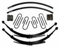 "Suspension - Lift Kits - Skyjacker Suspensions - 8"" Suspension Lift w/Rear Blocks & Add-A-Leaf, 88-91 Suburban 1/2 Ton w/6 Lug"