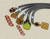 "Brakes - Front Brakes - Skyjacker Suspensions - Front Extended Brake Lines 6-8"" (Pair), 70-78 Blazer, Suburban & Pickup"