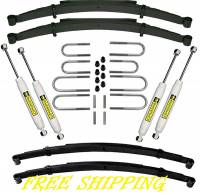 "Suspension - Lift Kits - Superlift Suspension - 2.5"" Superlift Suspension Lift w/Rear Springs, 73-91 Blazer & Suburban, 73-87 Pickup 1/2 Ton(FREE SHIPPING)"